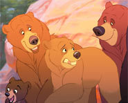 Phil Collins and Tina Turner provide the music for Brother Bear.