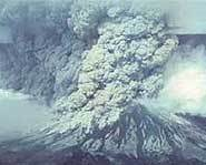 Mount St. Helens erupted in 1980.