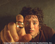 The Lord of the Rings was the number one flick at the box office.