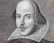 William Shakespeare is the most famous English author of all time.
