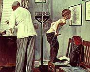 One of Norman Rockwell's popular paintings.