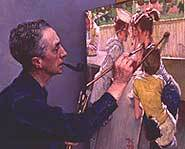 Norman Rockwell painting.