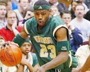Lebron James was picked by the Cleveland Cavaliers with the first pick of the 2003 NBA draft.