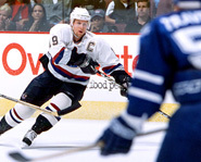 Markus Naslund will be playing for Sweden.
