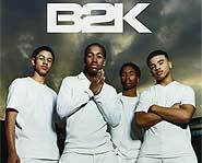 J Boog, Omarion, Raz B and Lil Fizz make up the hip hop boyband, B2K