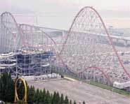 The Steel Dragon 2000 is the world's  longest rollercoaster. It's designed with three hills and two tunnels.