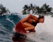 Blue Crush stars Kate Bosworth, Michelle Rodriguez and Sanoe Lake as surfing buddies.
