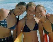 Blue Crush was filmed in Hawaii and features pipeline surf.