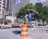 The 2002 X Games are being held in Philadelphia and features such extreme sports as skateboarding, rock climbing, BMX, motorcross and wakeboarding.