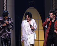 Michael Jackson performs Dancing Machine with *NSYNC.