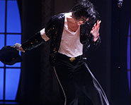 Michael strikes a move during Billie Jean.