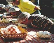 Pie Eating is one of the World's Most Disgusting Sports.