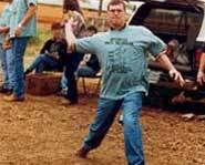 The World Cow Chip Throwing Championships are held every year in Beaver, Oklahoma.