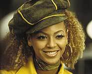 Beyonce Knowles of Destiny's Child stars in Austin Powers in Goldmember.