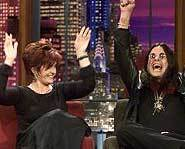 Ozzy & Sharon Osbourne on The Tonight Show.