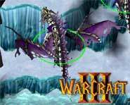Undead monsters battle in Warcraft 3 for your PC.