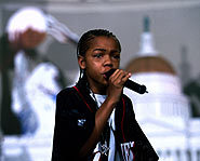 This lil' rapper is a great b-ball player too!