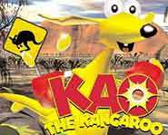 Kao - kangaroo on the run.