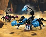 Makuta's evil monsters - they bite!