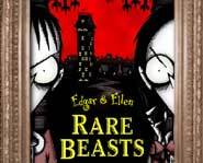 The Edgar & Ellen Rare Beasts book is all about the terrible twins pulling horrible pranks.