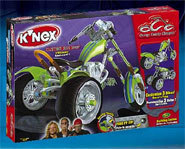 Picture of the K'Nex Orange County Choppers Custom Bike Shop.