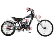 Photo of the Schwinn Sting-Ray electric bike.