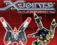 The X-Joints Build and Destroy toy robot kits let you design and build your own toy robots!