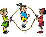 Skipping rope is a great way to improve your fitness level and strengthen your muscles.