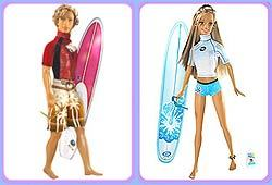 Barbie is looking good with a hot tan and new boyfriend!