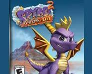 Picture of Spyro from Spyro 2: The Season of Flame for Game Boy Advance..