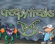 The Creepy Freaks collectible miniature figure game lets you battle to see who's the grossest monster of all!