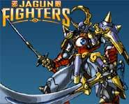 The Jagun Fighters collectible stone warriors game lets you battle against friends to prove you're the best!