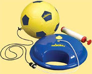 Soccer Swing Ball from Mookie is a great outdoor summer game for practicing your soccer skills.