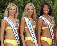 Miss Teen USA contestants for the 2003 competition.