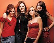 The Donnas fourth album is called Spend The Night.
