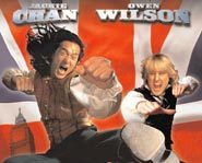 Owen Wilson and Jackie Chan star in Shanghai Knights, the sequel to Shanghai Noon.