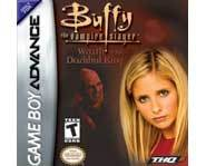 The Buffy the Vampire Slayer video game for the Nintendo Gameboy Advance lets you use stakes and kung fu moves to dust vampires and stomp demons in Sunnydale!