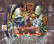 Yu-Gi-Oh! collectible card game Metal Raiders expansion review.