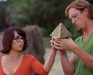 Linda Cardellini & Matthew Lillard of Scooby-Doo.