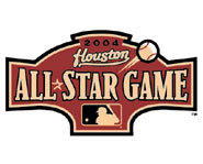 The 2004 MLB All-Star game was played in Houston.
