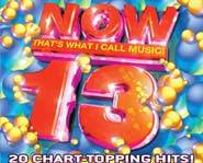 Now 13 has chart-topping hits by Justin Timberlake, Sum 41 and Jay-Z.