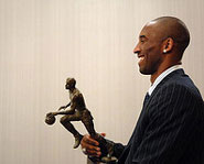 In 2008, Kobe Bryant was the MVP of the NBA.