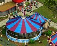 Big tents and more elephants.