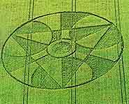 Crop circles began to really take shape in the early 1970's.