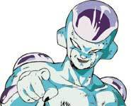 Frieza - he's gonna get you in Dragonball Z: The Legacy of Goku.
