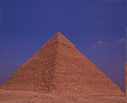 The Great Pyramid built by King Khufu is a wonder.