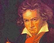Famous composer Beethoven became deaf when he was about 28 years old.