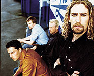 Nickelback consists of Chad Kroeger, Ryan Peake, Mike Kroeger and Ryan Vikedal.