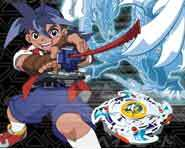Beyblade is a toy, a game and an animated show.