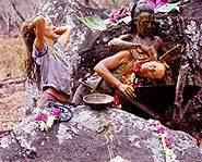 Survivor Marquesas - finale - Marquesan ritual.